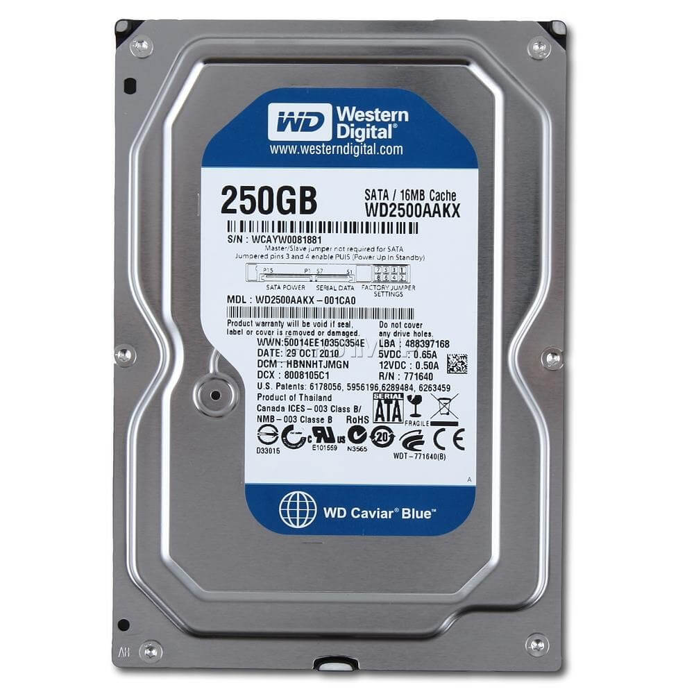 Western_Digital_Caviar_Blue_250GB_-_7200rpm_-_16MB_Cache_-_SataII_(WD2500AAKS)-hinh1